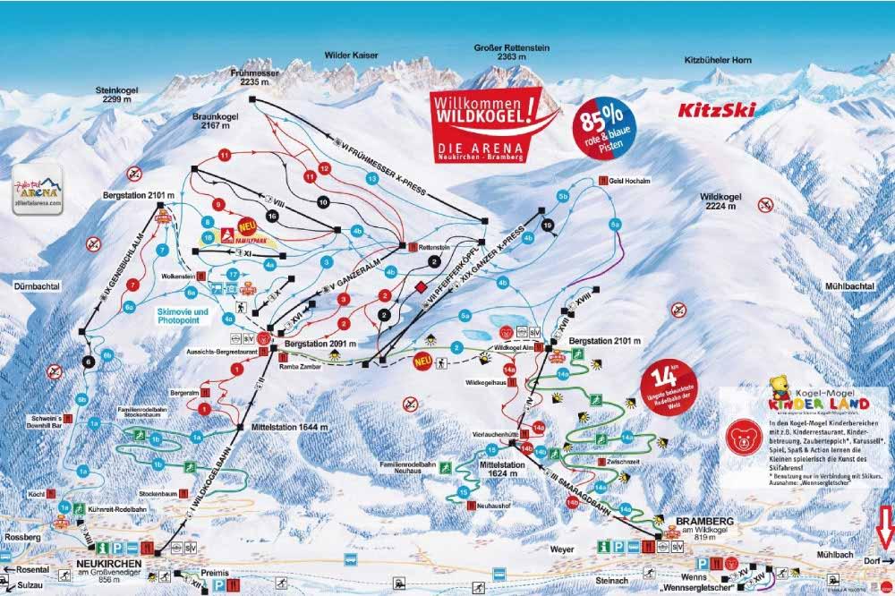 skigebiet Wildkogel
